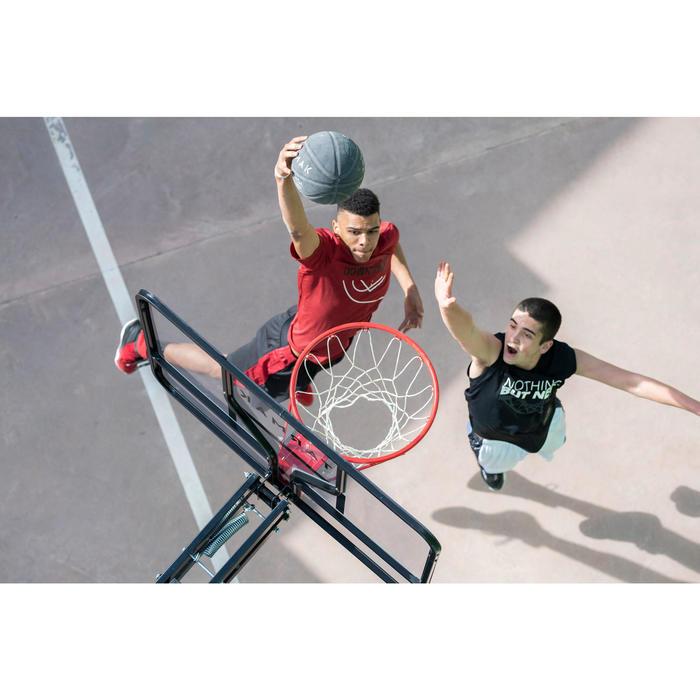 Basketball-Korbanlage B700 Pro Kinder/Erwachsene 2,40m–3,05m. 7 Spielhöhen