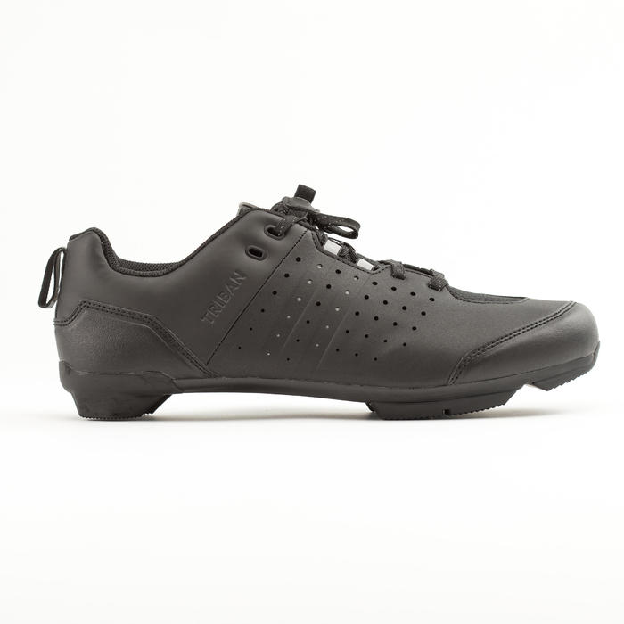 ZAPATILLAS CICLISMO DE CARRETERA SPD TRIBAN RC 500 NEGRAS