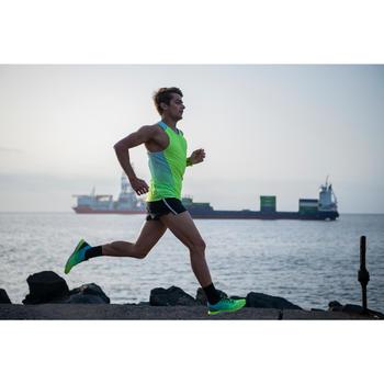 KIPRUN ULTRALIGHT MEN'S RUNNING SHOES - GREEN/YELLOW