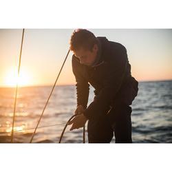 Fleecejacke Segeln Sailing 500 warm Herren dunkelblau