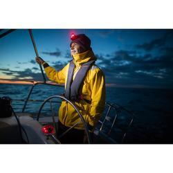 Chaqueta Cortaviento Nauticas Vela Ligera Tribord Sailing 500 Hombre Amarillo