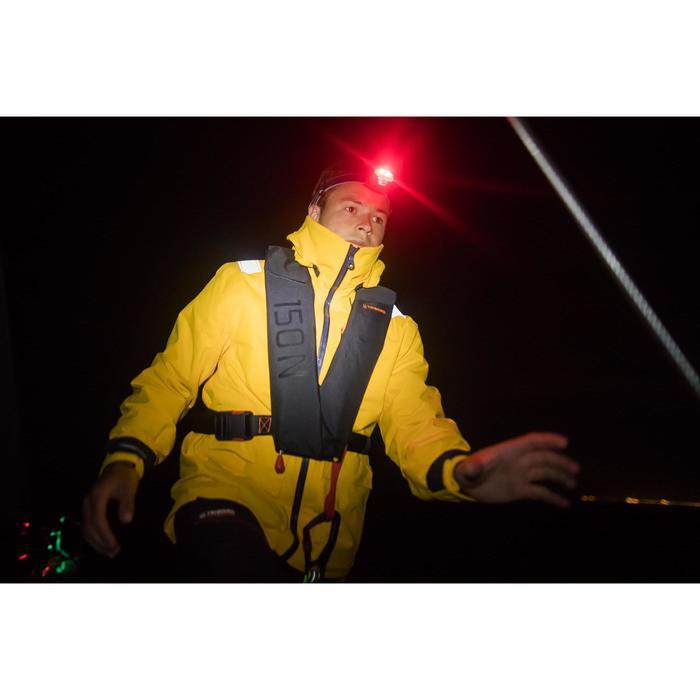 Casaco Impermeável de Vela SAILING 500 Homem amarelo
