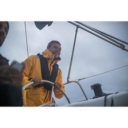 Sailing 500 Men's Waterproof Sailing Jacket - Yellow