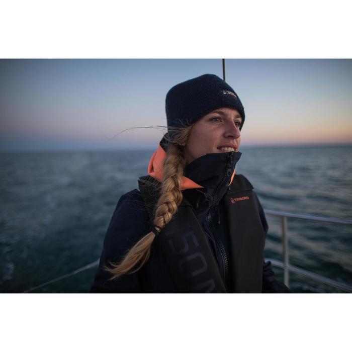 Veste imperméable de voile femme SAILING 500 Navy