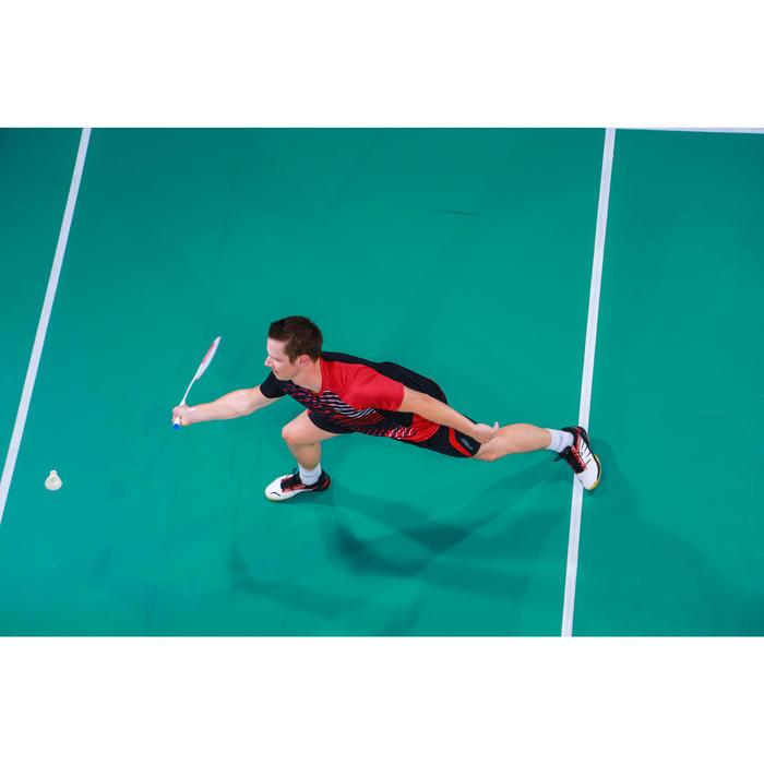 Badmintonracket voor volwassenen BR 560 Lite wit rood