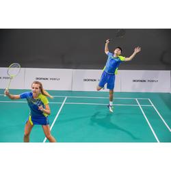 Jupe de badminton Femme 560 - Bleu/Jaune