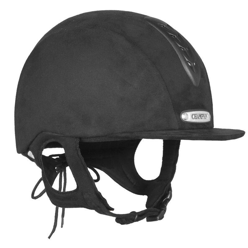 X-AIR PLUS JUNIOR RIDING HAT BLACK