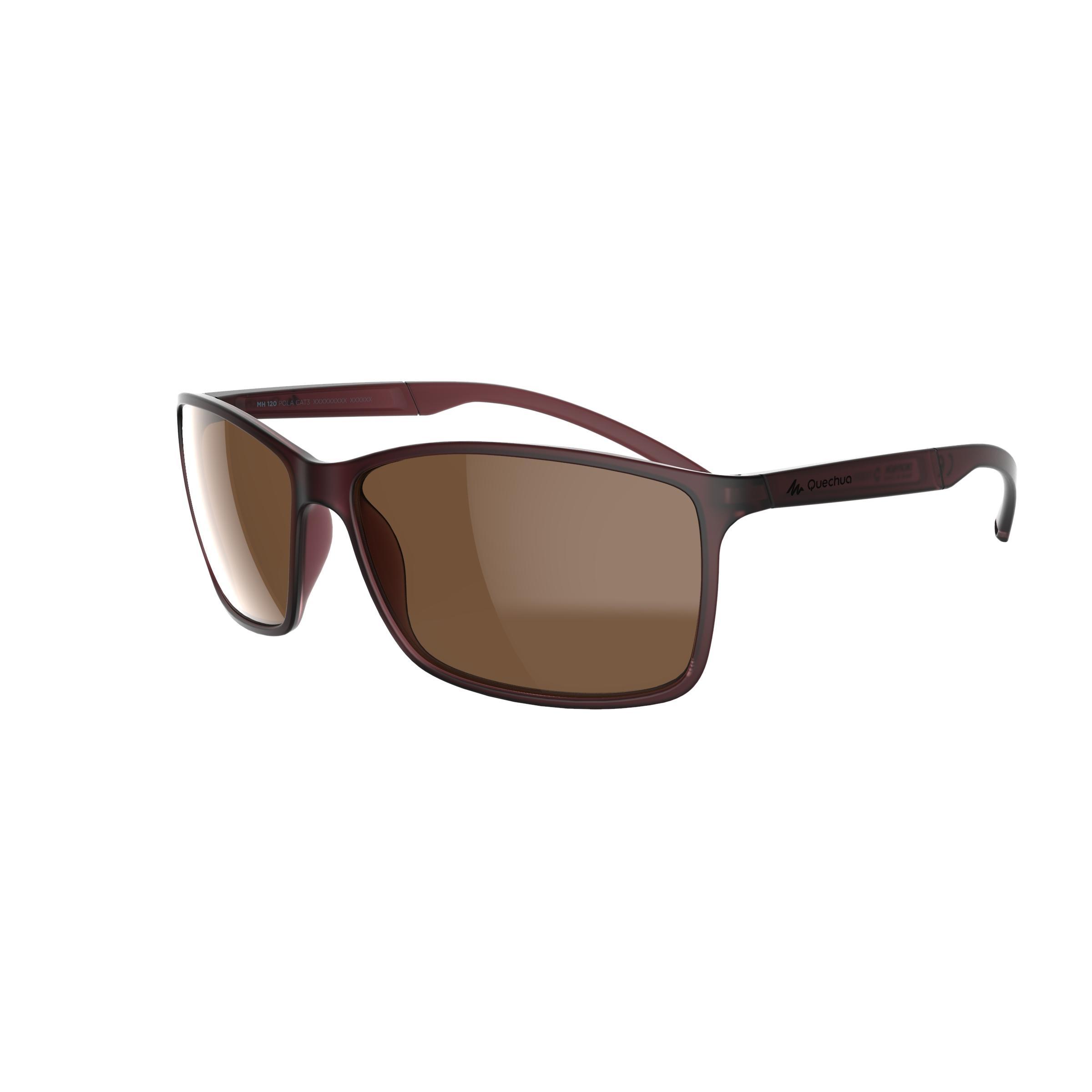 Quechua Wandelzonnebril MH120 categorie 3 kopen? Sport>Sportbrillen>Zonnebrillen met voordeel vind je hier