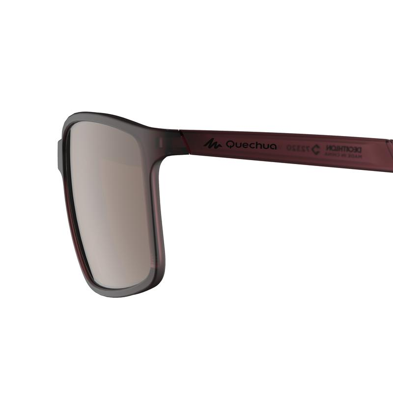 Hiking Category 3 Sunglasses MH120 - Purple
