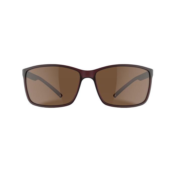 Gafas de sol de senderismo MH120 violeta categoría 3