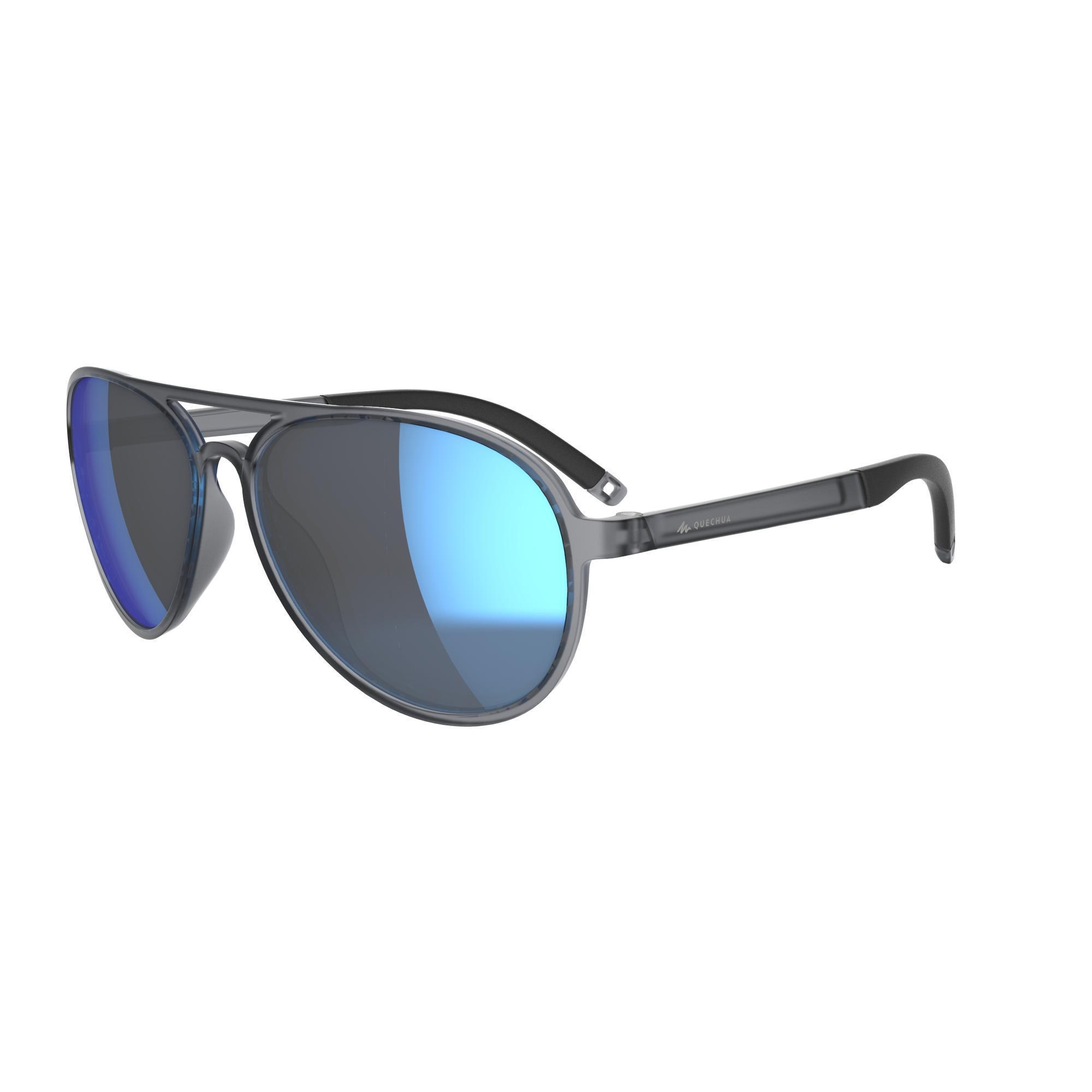 Quechua Wandelzonnebril MH120A categorie 3 kopen? Sport>Sportbrillen>Zonnebrillen met voordeel vind je hier