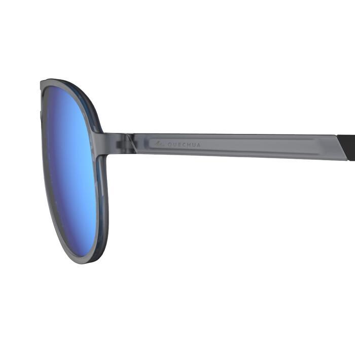 50-70% de descuento el precio más bajo mejor servicio Gafas de sol de senderismo MH120A gris categoría 3