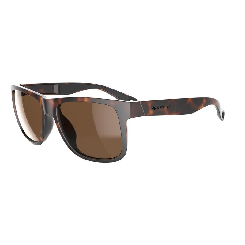 Adult's Category 3 Hiking Sunglasses MH140W - Brown