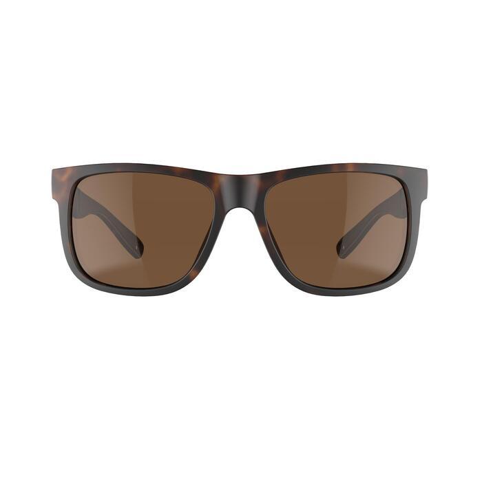 Gafas de sol de senderismo adulto MH140 marrón categoría 3
