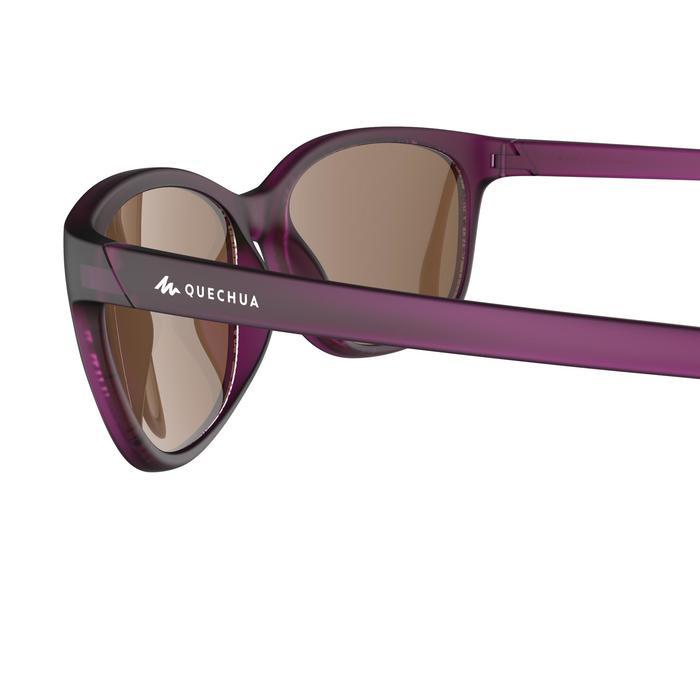 Sonnenbrille Wandern MH140 Kategorie3 Damen violett