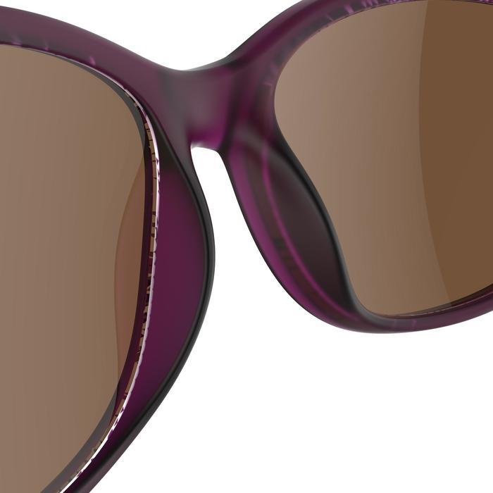Lunettes de soleil de randonnée adulte MH140W violettes catégorie 3