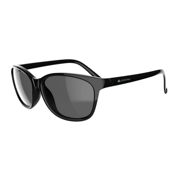 c742cb7ecd Gafas de sol de senderismo adulto MH140W negro polarizadas categoría ...