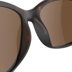 Gafas de sol de senderismo adulto MH140W marrón categoría 3