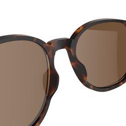 Sonnenbrille Wandern MH160 Kategorie 3 Erwachsene braun