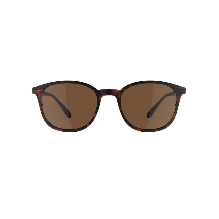 Gafas de sol de senderismo MH 160 marrón categoría 3