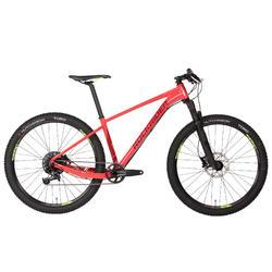 """Bicicleta de Montaña Rockrider XC 500 27,5"""" 11V Roja"""