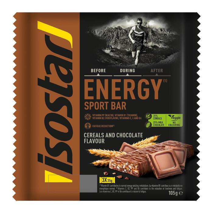 Barre énergétique ENERGY SPORT BAR chocolat 3x35g