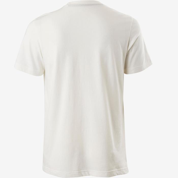 Adidas T-Shirt Adidas Decadio 100 Pilates Gym douce homme blanc ... 98acc7f0e85