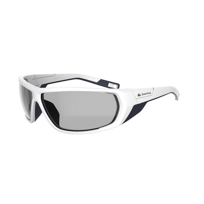 25eef53eff Gafas de sol de senderismo adulto MH570 blanco fotocromáticas CAT. 2 => CAT.