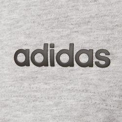 Short Adidas 3S gris chiné