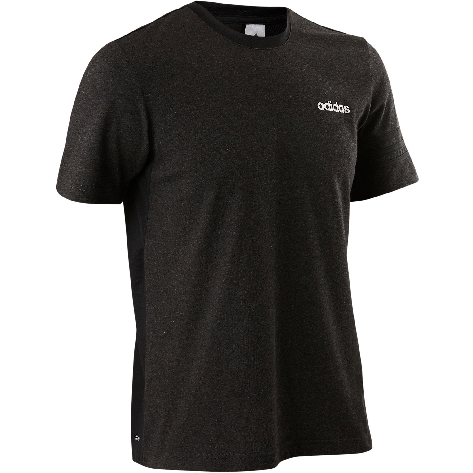 T-Shirt Douario 500 Gym Herren schwarz | Sportbekleidung > Sportshirts > Poloshirts | Adidas