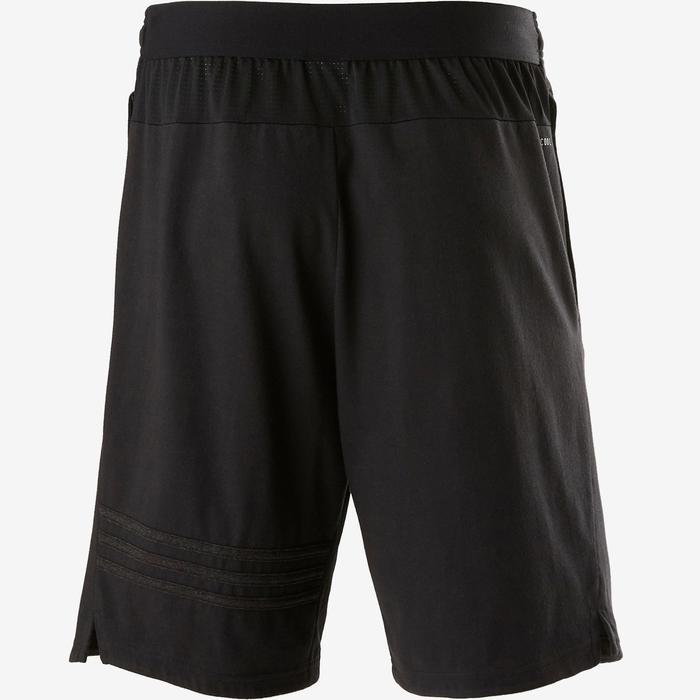 Short Adidas Douario 500 pilates en lichte gym heren zwart