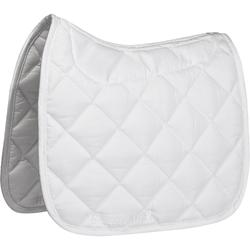 Mantilla Silla Equitación Fouganza Doma Grippy Caballo Blanco Superficie Relieve