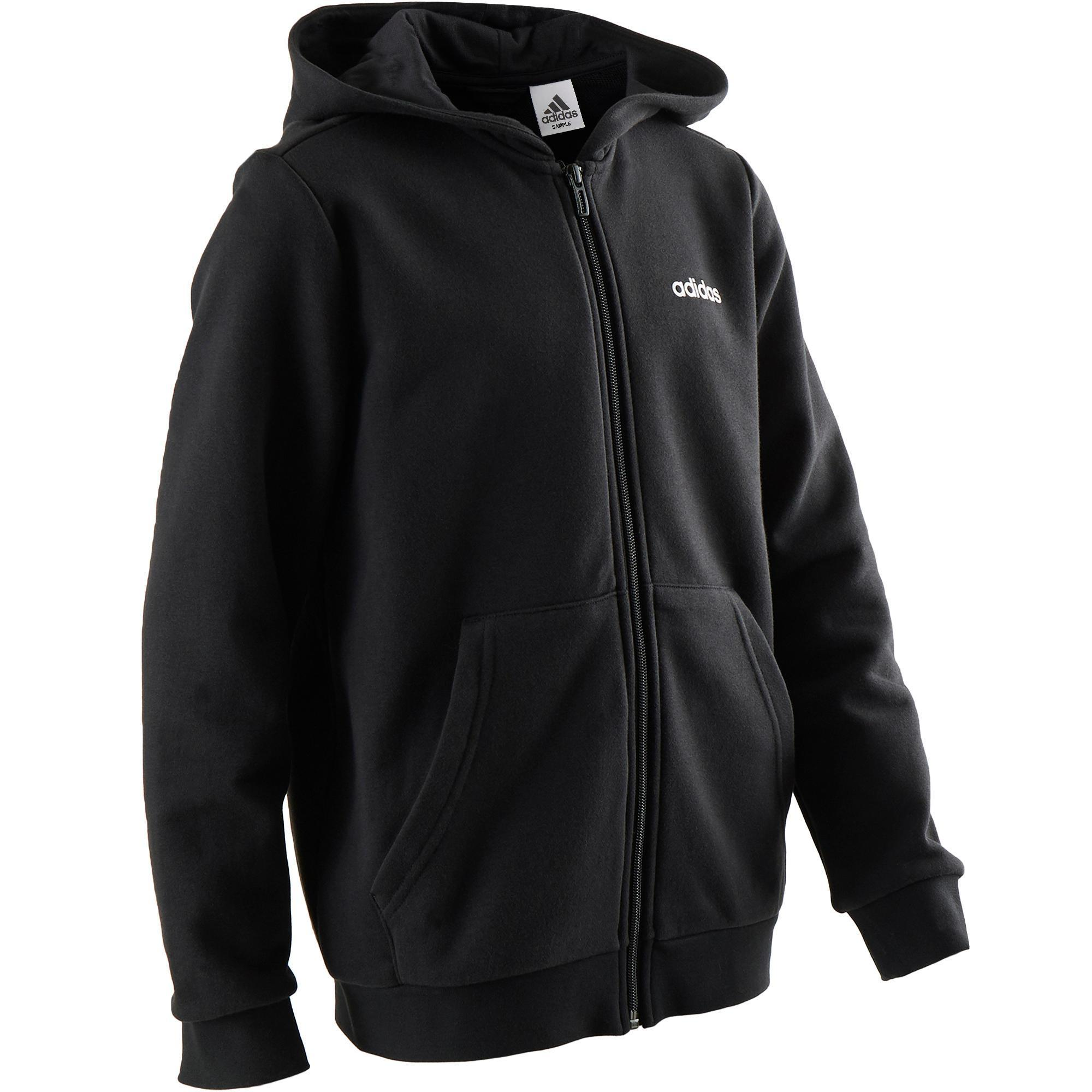 Adidas Vest met capuchon jongens gym Adidas-logo op de borst