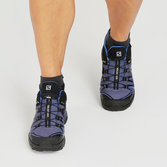 Zapatilla DE MONTAÑA Y TREKKING Mujer Salomon X Ultra GORE-TEX violeta