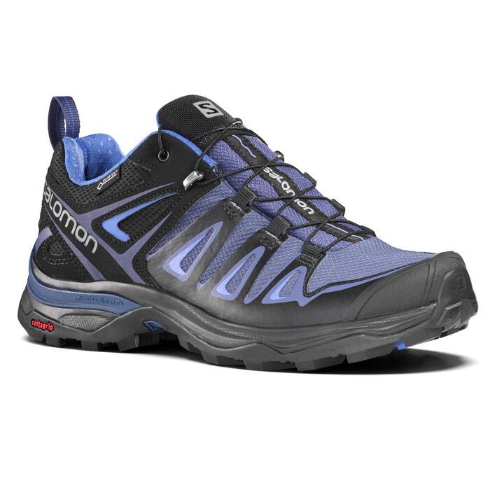 Zapatillas de senderismo rápido Mujer Salomon X Ultra GTX M violeta