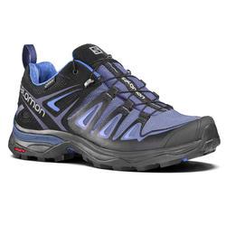 Zapatillas de travesía mujer Salomon X Ultra Gore-tex violeta