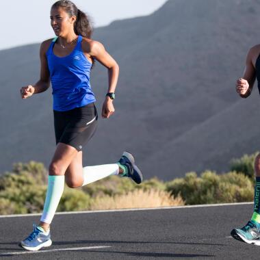 running course à pied marathon
