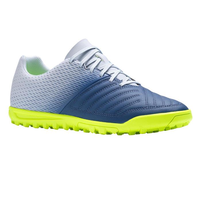 Chaussure de football adulte terrain dur Agility 140 HG grise