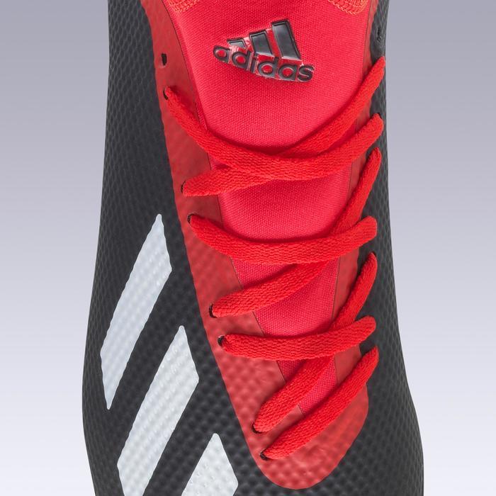 Chaussure de football adulte X 18.3 HG rouge noire
