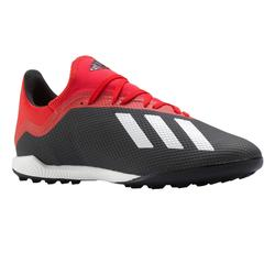 Botas de fútbol adulto X 18.3 HG rojo negro
