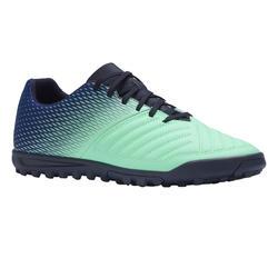 成人款硬地足球鞋Agility 140 HG-藍色/綠色