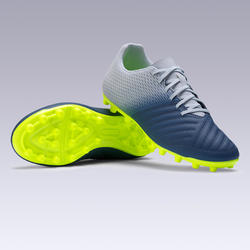 Men's Football Boots Agility 300 FG - Grey