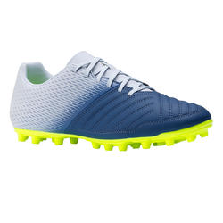 Chaussure de soccer adulte terrains secs Agilité 140 FG adulte grise