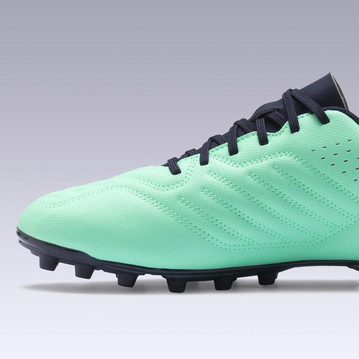 Agility 300 FG Adult Dry Pitches Football Boots - Blue/Green