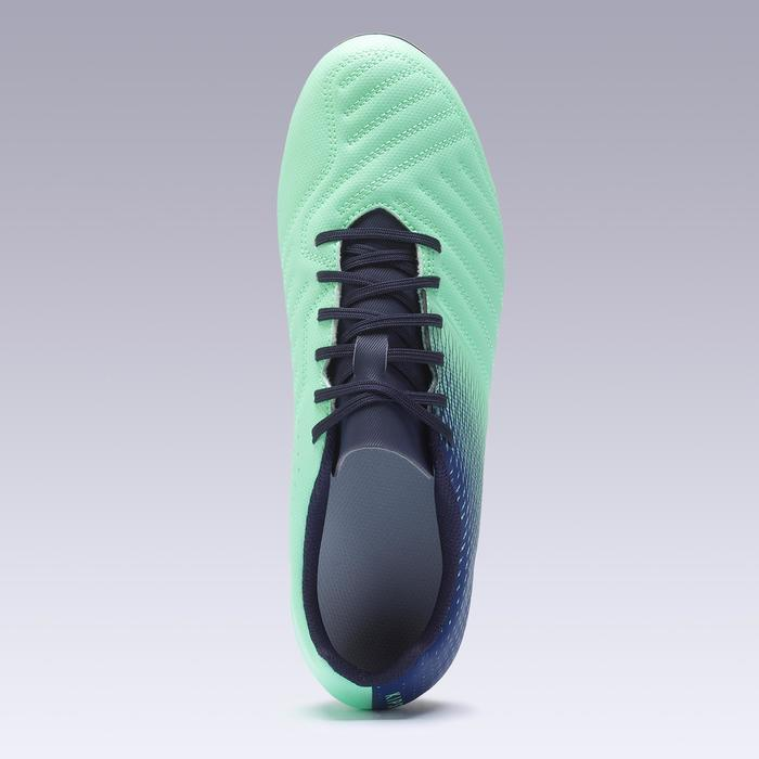 Agility 140 FG Adult Dry Pitches Football Boots - Blue/Green