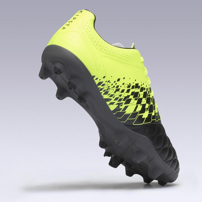 Agility 500 MG Adults' Dry Pitch Football Boots - Yellow/Black