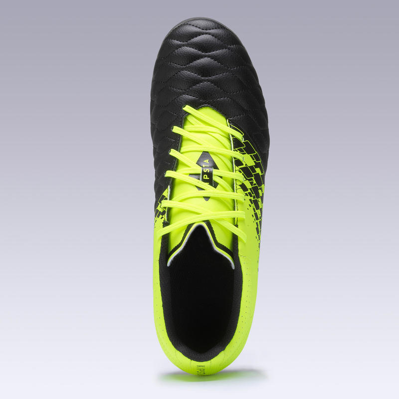 Men's Football Boots Agility 500 MG - Yellow/Black