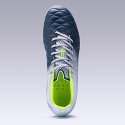 Chaussure de football adulte terrains secs Agility 540 cuir FG grise