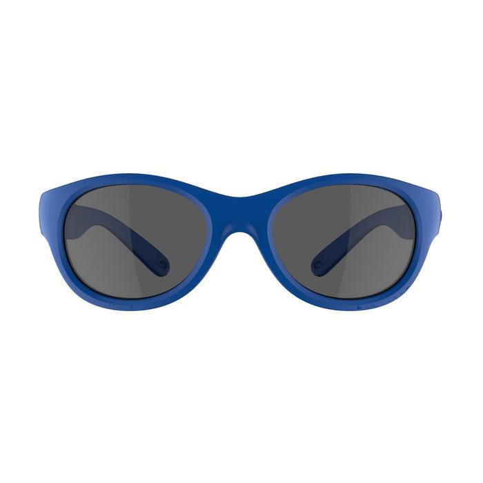 Gafas de sol de senderismo júnior 3-5 años MH K 100 azul categoría 3