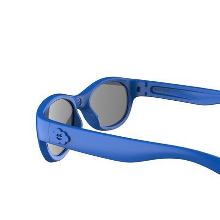 Lentes de sol de senderismo júnior 3-5 años MH K 100 azul categoría 3